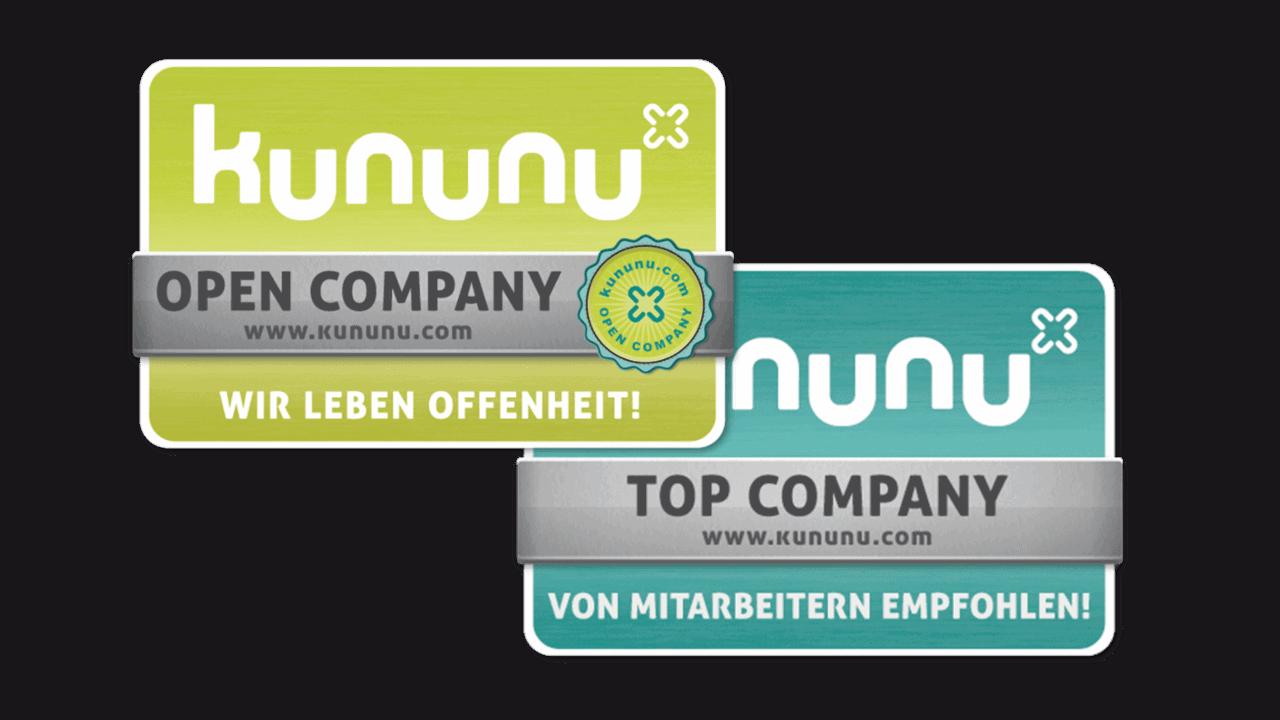 kununu Top Company & Open Company