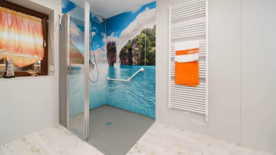 Die barrierefreie Dusche