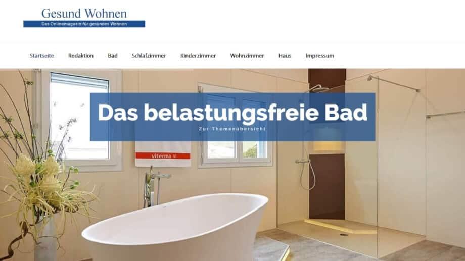 viterma Online-Magazin Gesund Wohnen