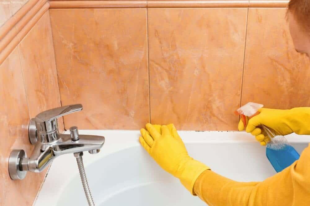 Schimmel Im Bad Entfernen Gesundheitsrisiko Beseitigen
