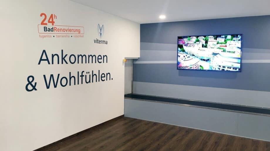 viterma Ankunftshalle Flughafen Altenrhein
