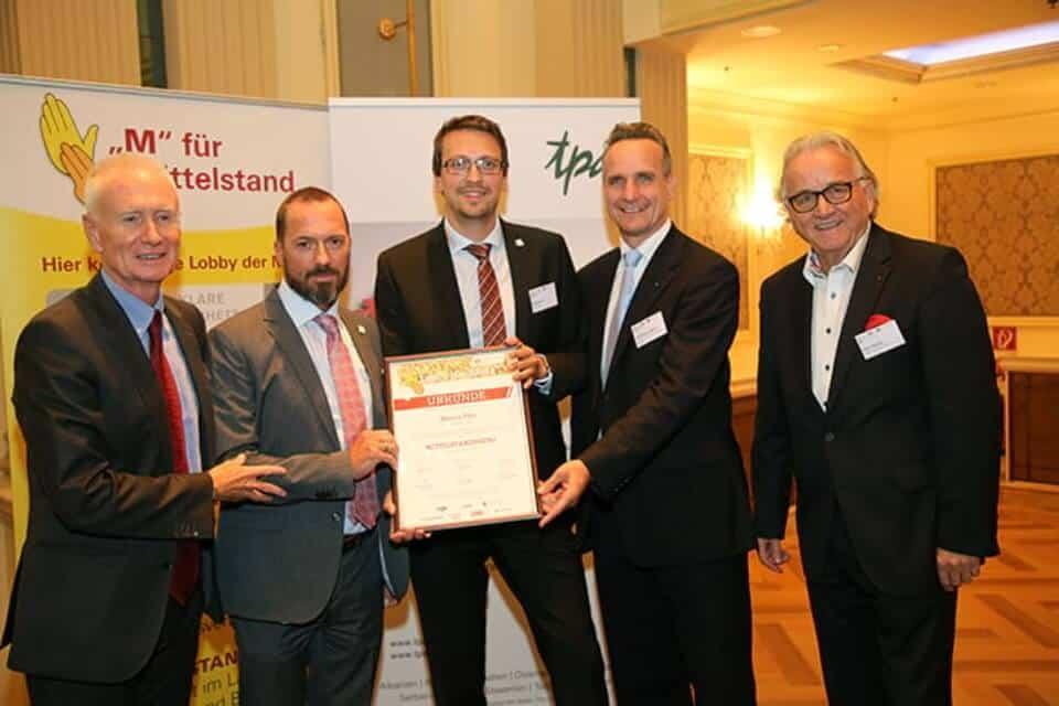 viterma Auszeichnung Held des Mittelstands Marco Fitz