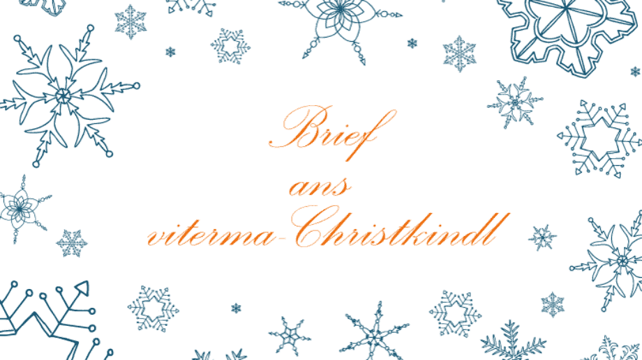 viterma Brief ans Christkindl