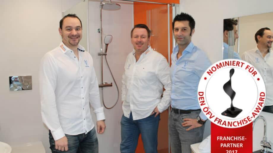 viterma Bad(t)raum GmbH Nominierung Franchise Award