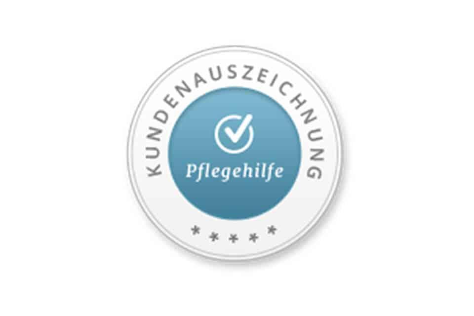 viterma Kundenauszeichnung auf Pflegehilfe.de
