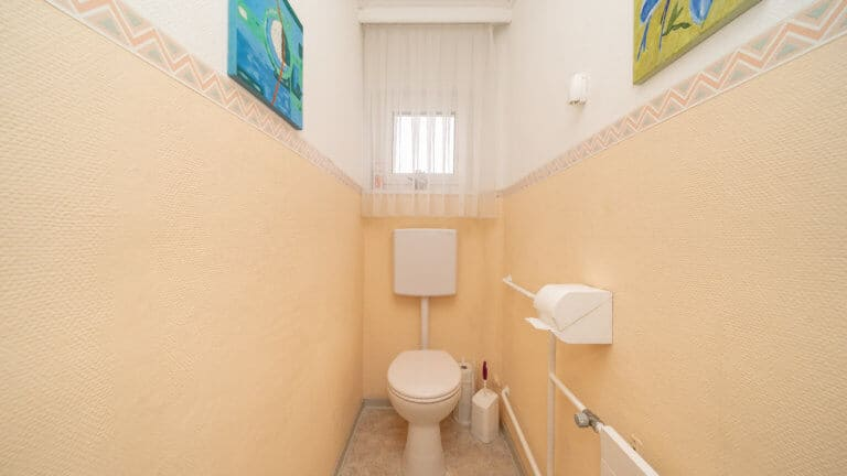 WC-Sanierung Vorher-Situation