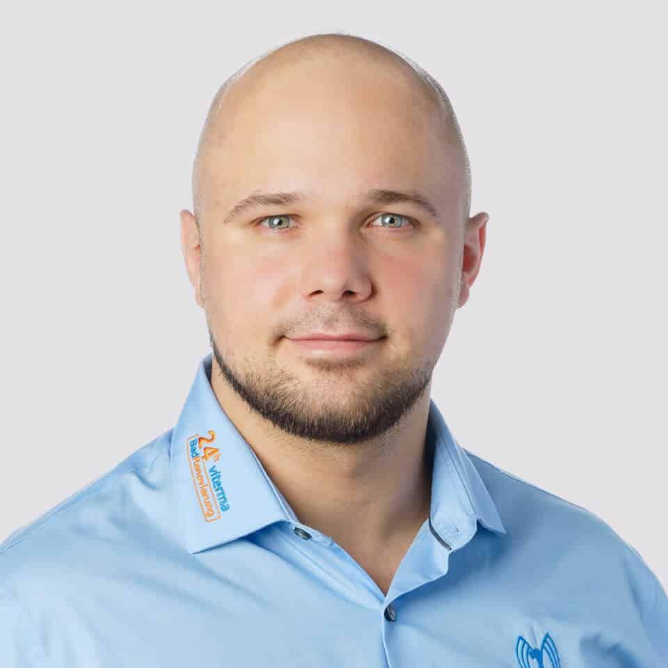 viterma Mitarbeiter Gabriel Michalkiewicz