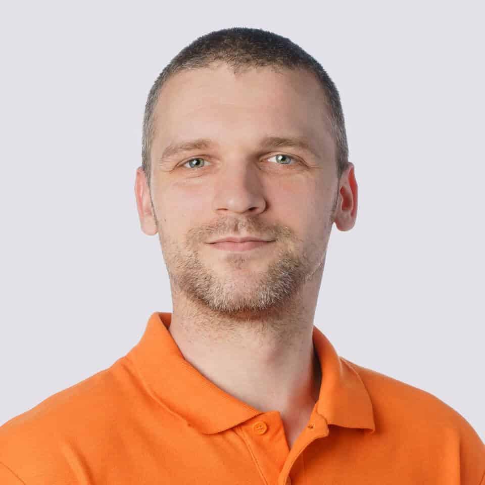 Viterma Mitarbeiter Lukasz Kazmierczak