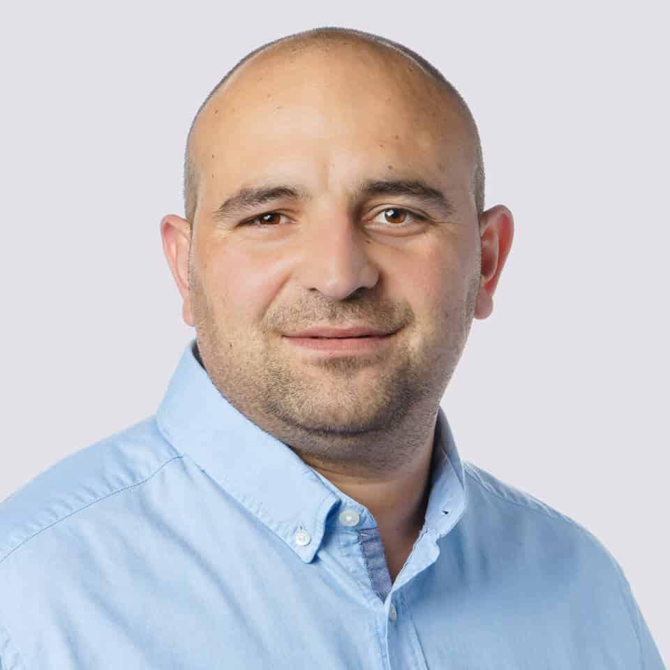 Viterma Mitarbeiter Zoki Bozhinov