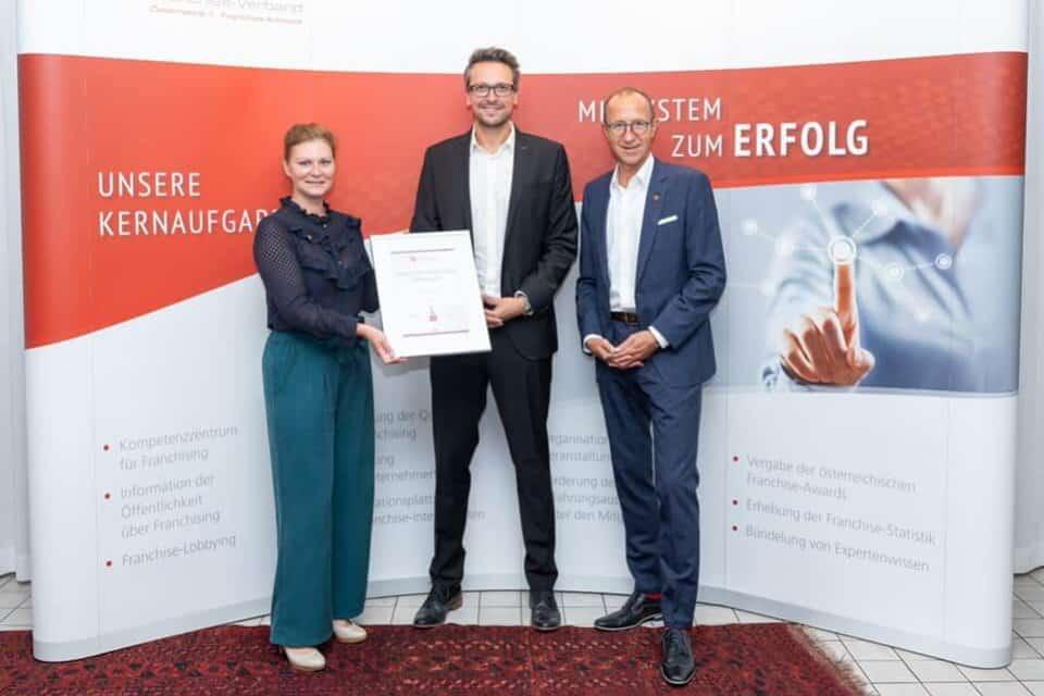 Viterma gewinnt ÖFV Franchise Award 2020