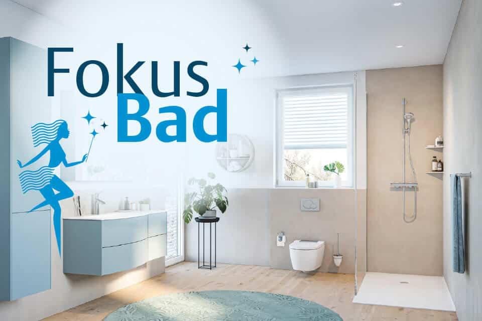 Fokus Badezimmer