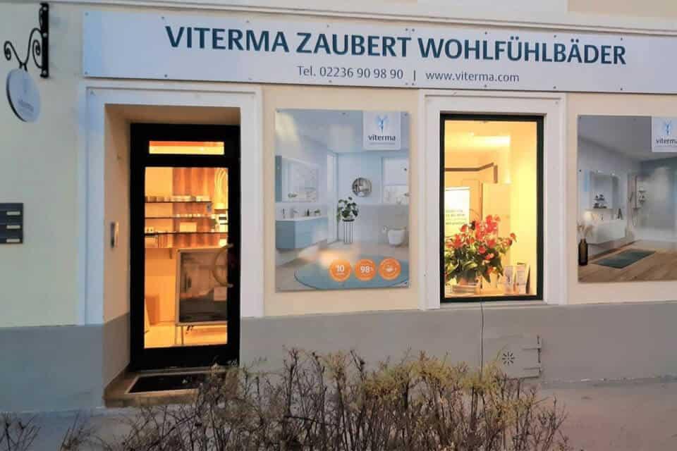 Viterma Badsanierung Badausstellung Mödling