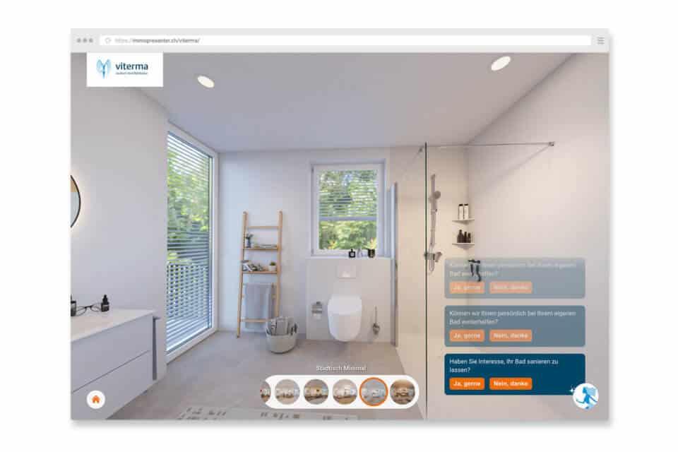 Viterma virtuelle Badausstellung