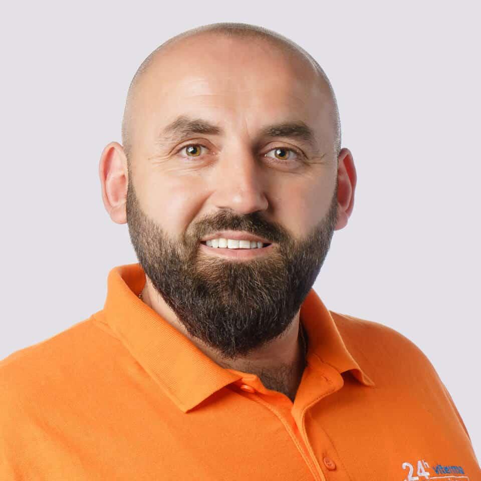 Viterma Mitarbeiter Hamit Ametaj