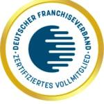 Siegel Zertifiziertes Vollmitglied Deutscher Franchiseverband